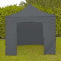 Mobeventpro - Mur porte zippable tente pliante Pro 40MM 3m gris