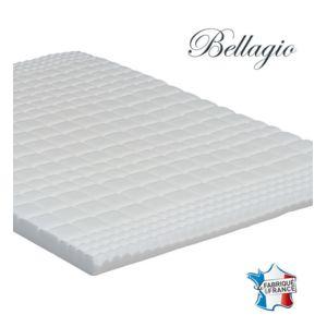 confort surmatelas a memoire de forme bellagio 140x190 140cm x 190cm achat vente matelas. Black Bedroom Furniture Sets. Home Design Ideas