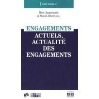 Academia - engagements actuels, actualité des engagement
