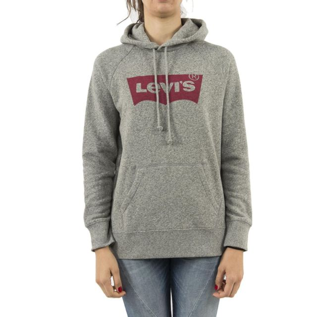 cff16562b2d Levi s - Sweat levis graphic sport hoodie hsmk hoodie marys gris ...