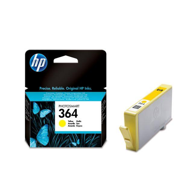 HP CB320EE - Cartouche d'encre 364 Jaune