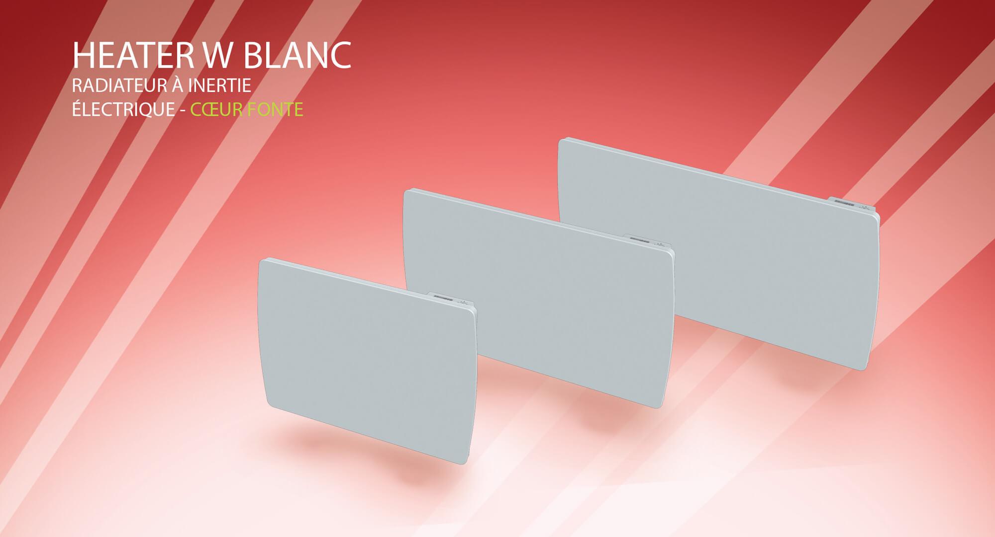 destockage carrera radiateur inertie verre blanc fire 1000 w pas cher achat vente radiateur. Black Bedroom Furniture Sets. Home Design Ideas