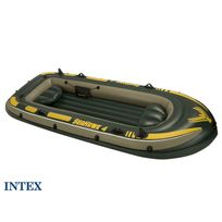 Intex - Bateau gonflable 4 places Seahawk 400
