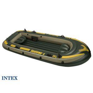 intex bateau gonflable 4 places seahawk 400 pas cher achat vente bateaux gonflables. Black Bedroom Furniture Sets. Home Design Ideas
