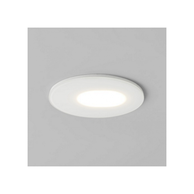 Astro Spot encastrable rond orientable Mayfair Led Ip65 - Blanc