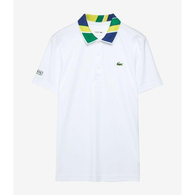 Lacoste - Polo Mc Homme White Shdh2116 Blanc - XL - pas cher Achat   Vente Polo  homme - RueDuCommerce ea95781e47e3