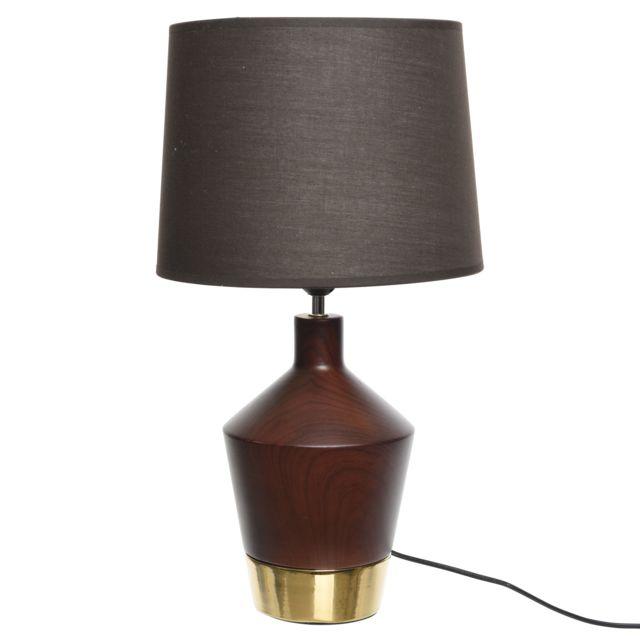 Coton Lampe Céramique Abat À Poser Et Jour gYbf7yv6