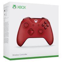 MICROSOFT - Manette Xbox Sans Fil Rouge - XBOX ONE