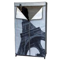 Maison Futée - Armoire Penderie en Toile - Paris Tour Eiffel