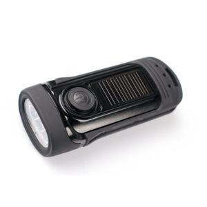 Power Plus - Barracuda Lampe torche solaire et dynamo 3 Led