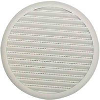 Dmo - Grille plastique universelle fixation à ressort Ø 140 mm