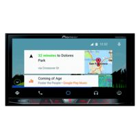 Pioneer - Avh-x8700BT - Autoradio Cd/DVD/DivX Mp3 avec écran tactile 7', contrôle iPod/iPhone, Apple CarPlay, Usb, Hdmi, Bluetooth, Android Auto, AppRadio et MirrorLink