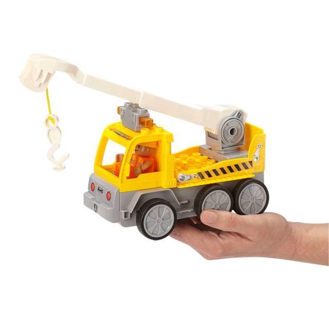 REVELL RC-Junior Camion élevateur REVELL CONTROL JUNIOR : Une gamme RC pour les plus petits. A partir de 3 ans. Quelques accessoires à monter rapidement. Ludique (pas de batteries) et simple d'utilisation