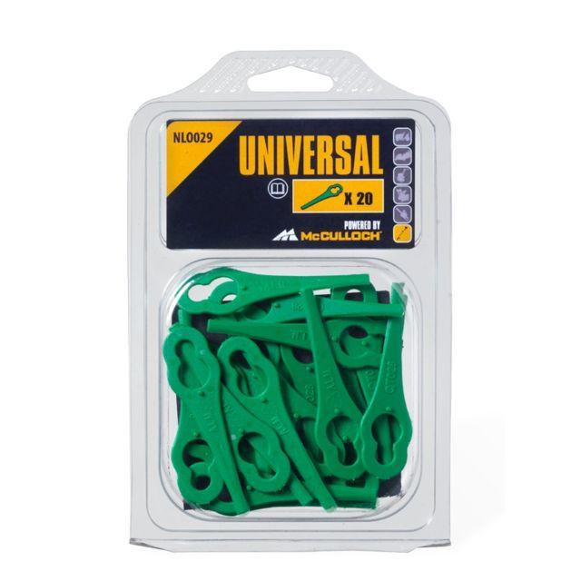 universal lames plastiques pour coupe bordures sans fil bosch nlo029 pas cher achat. Black Bedroom Furniture Sets. Home Design Ideas