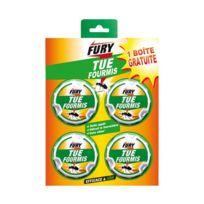Fury - Boîte appât anti-fourmis x4