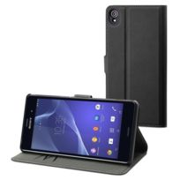 Made For Xperia - Mfx Etui Wallet Folio Noir Pour Sony Xperia Z3