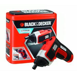 black decker kc460ln tournevis lithium compact sans. Black Bedroom Furniture Sets. Home Design Ideas
