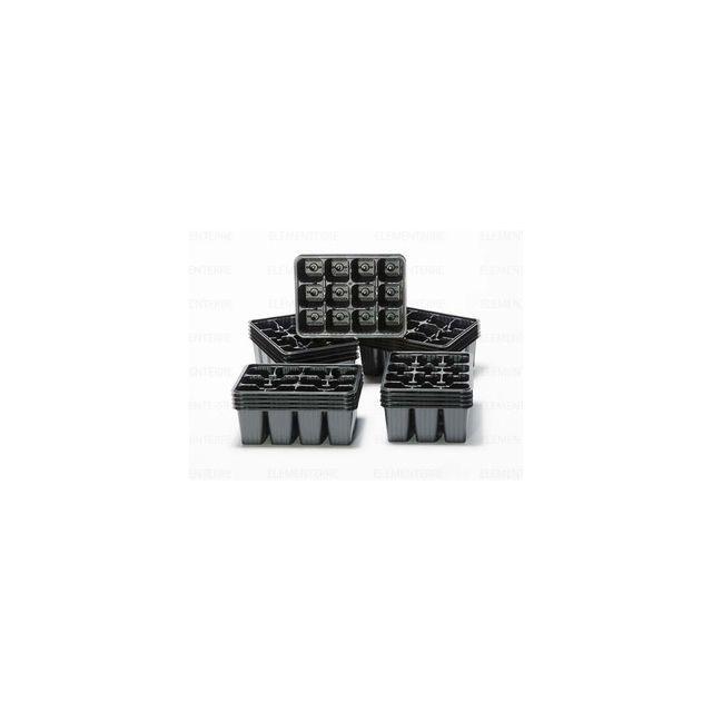 Soparco Plaque pour semis 12 Alveoles 40x40mm, x 100