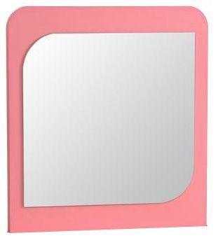 Comforium Miroir mural coloris rose