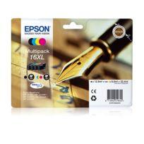 """EPSON - Multipack 6 couleurs XL """"Stylo à plume"""" - T1636"""