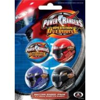 Pyramid - Power Rangers pack 4 badges