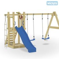 Wickey - Aire de jeux Sunshine Duo, aire de jeux, jeux de plein air, tour de jeux