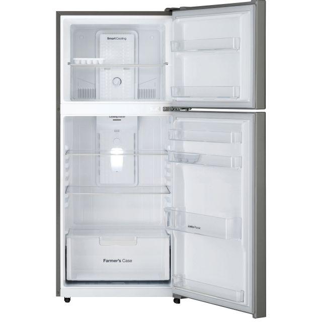 DAEWOO Réfrigérateur combiné 2 portes FN-406S 2 portes de 345 L -Froid Ventilé total -Cooling Master -Eclairage intérieur LED -Coloris Inox.
