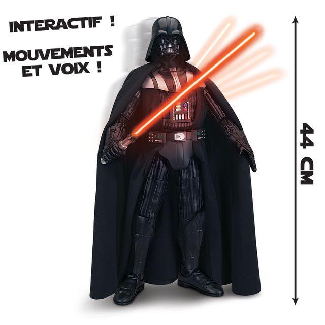 star wars - dark vador interactif de 44 cm -7911   vente jouet  u00e9lectronique