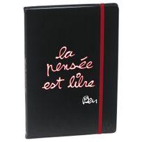 """Ben - Quo Vadis : - Carnet de Notes Ligné 24 x 16cm """" La pensée est libre"""