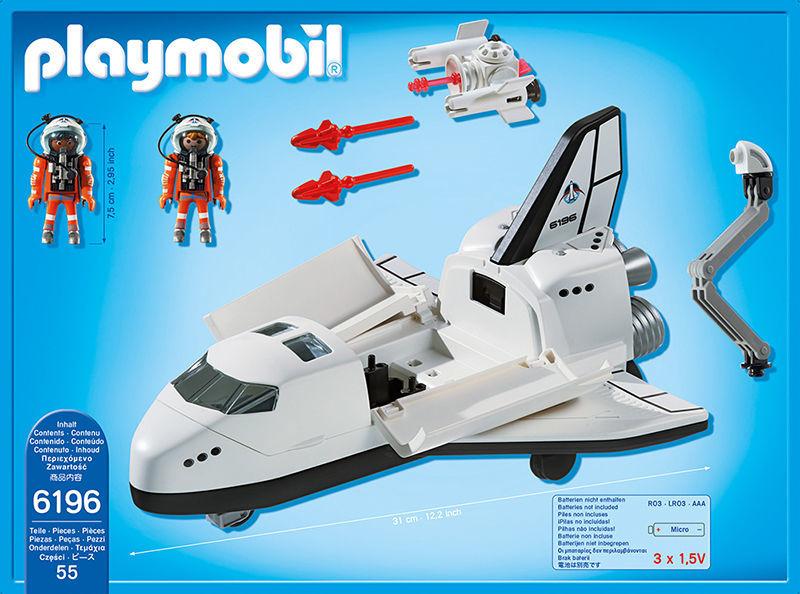 Navette spatiale et spationautes - 6196