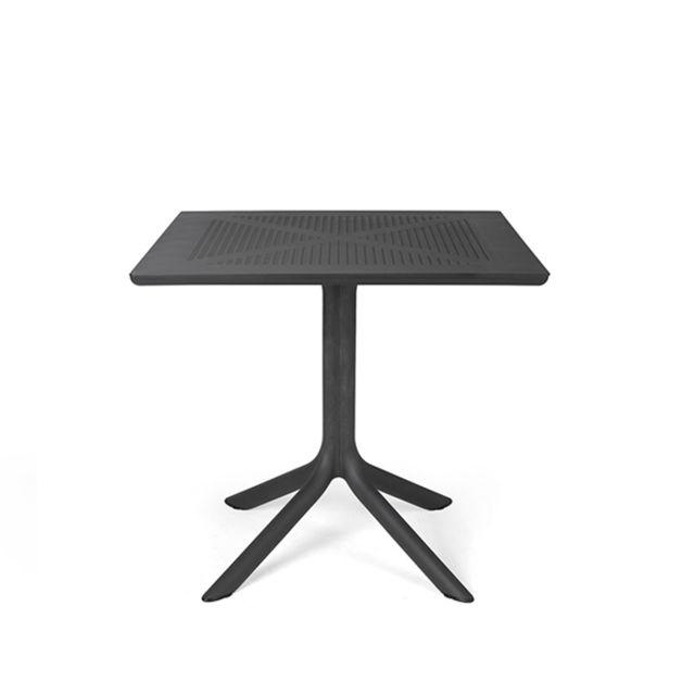 Table basse de jardin de forme carré 80cm
