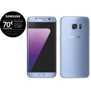 samsung galaxy s7 edge bleu pas cher achat vente smartphone classique android rueducommerce. Black Bedroom Furniture Sets. Home Design Ideas