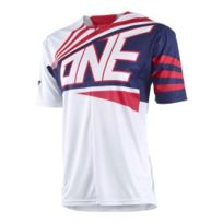 One - Maillot Ion 1/4 Zip blanc