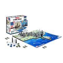 4d cityscape - Ino4DCHIC - Puzzle 4D De Chicago