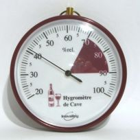 C. Diffusion - Hygromètre Cadran rond de Cave 10 cm
