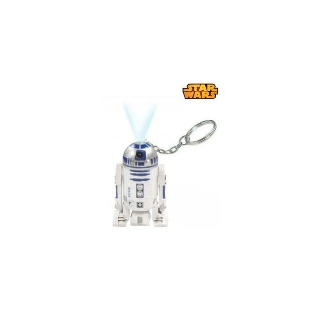 Kas Design Porte-Clés Star Wars R2D2 Torche Laser, Gadget Star Wars Geek