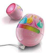Philips - 717042816 - Lampe de chevet pour enfant Disney Micro Princess Rose