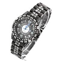 Megadiams - Montre Femme Acier Diamants Cz 92