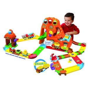 Vtech baby tchou tchou bolides circuit train canyon - Tchou tchou le train ...