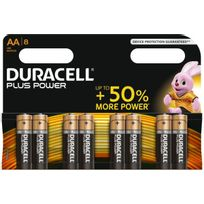 Duracell - Pile Aa x8 Plus Power Lr06