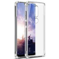 Marque Generique - Coque en Tpu la peau se sentent antidéflagrants anti-goutte transparent pour votre Nokia X6 2018