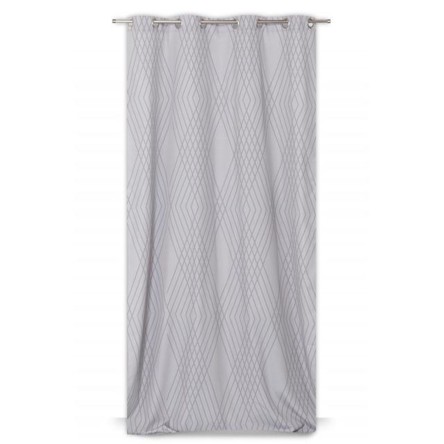 rideaudiscount rideau 100 coton 140 x 250 cm oeillets. Black Bedroom Furniture Sets. Home Design Ideas