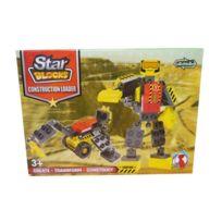 Jja - Robot transformer - Star blocks jaune