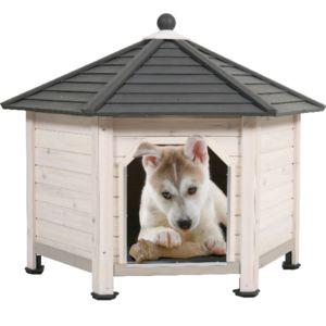 zolux niche pour chien en bois hexagonale s pas cher achat vente niche pour chien. Black Bedroom Furniture Sets. Home Design Ideas