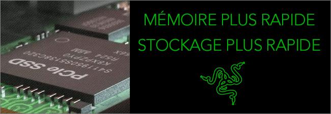 Stockage PCIE