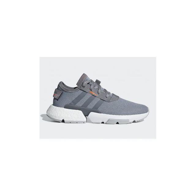 buy popular bb46b f1091 Adidas - Pod-s3.1 - B37365 - Age - Adulte, Couleur - Gris, Genre - Homme,  Taille - 40 2 3 - pas cher Achat   Vente Chaussures basket - RueDuCommerce