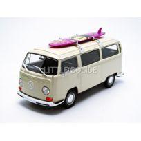 Welly - Volkswagen Combi T2 Bus - Surfboard - 1972 - 1/24 - 22472SBW
