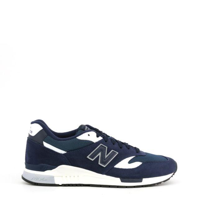 design de qualité c957e 7e594 Buzzao - Baskets New Balance homme noir et bleu - pas cher ...