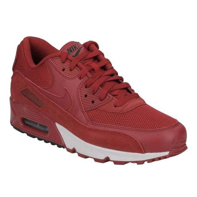 806e443f7e6a27 Nike - Nike Air Max 90 Essential gym red gym red black white 537384 604