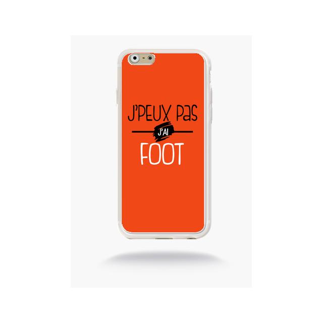 coque iphone 6s foot